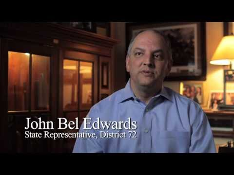 About John Bel Edwards - 3 min