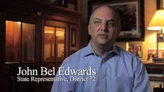 About John Bel Edwards - 3 min