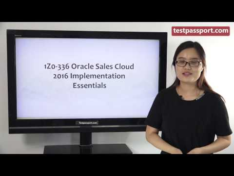 [Testpassport] Offer latest Oracle Customer Experience Cloud 1Z0-336 exam questions