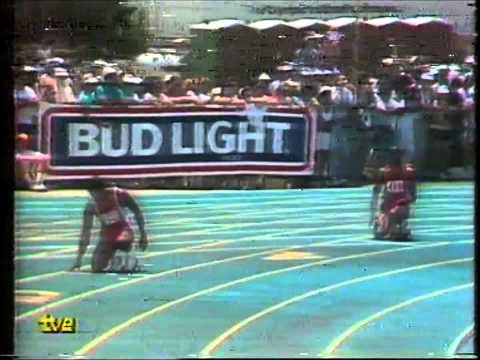EDWIN MOSES vs. DANNY HARRIS 1987 Cto  USA
