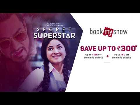 Secret Superstar (2017) - Zaira Wasim | Movie Ticket Offer @BookMyShow
