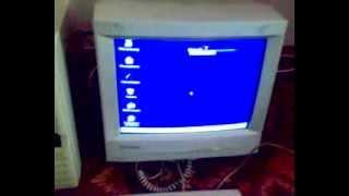 windows 98 running in pentium ii 133mhz 96mb ram