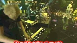 Sunrise Avenue - Fairytale Gone Bad (Live + Lyrics)