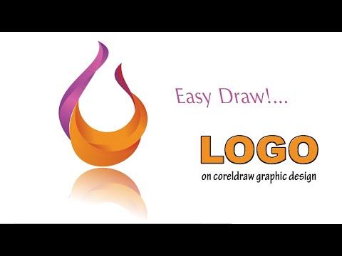 Tutorial Design Logo on corelDRAW   How to learn corelDRAW Design Graphic!...   Think Draw