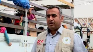 العراق.. عائلات القيارة تودع مخيمات النزوح