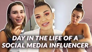 A Day In The Life Of A Social Media Influencer | SHANI GRIMMOND