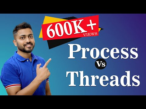 Process Vs Threads   Operating System