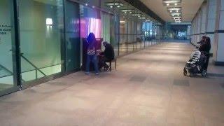 Interstellar piano. Canary Wharf, London