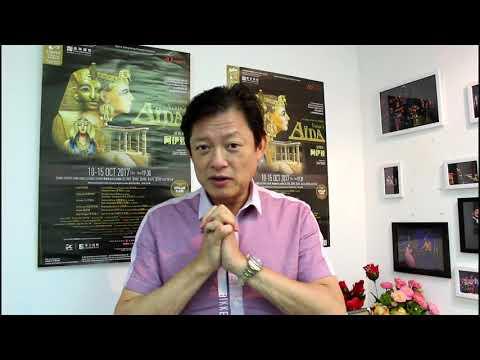Artistic Director Warren Mok introduces Aida
