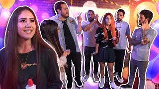 Fiesta privada de YouTubers