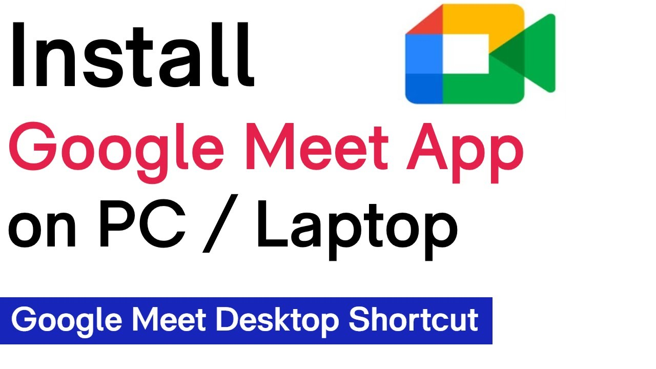How To Download Google Meet On PC  How To Download Google Meet On Laptop  #downloadgooglemeet