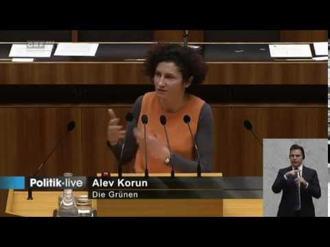 41234Nationalratssitzung 6 Alev Korun Grüne 2015/01/21
