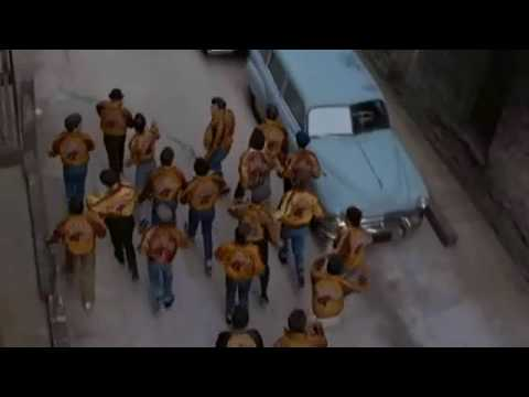 The Wanderers - Alley scene