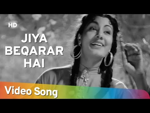 Jiya Beqarar Hai Chhayee Bahar - Nimmi - Barsaat - Bollywood Classic Songs - Lata Mangeshkar Hits