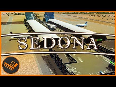 Sedona - Part 36   AIRPORT DESIGN (Cities: Skylines)
