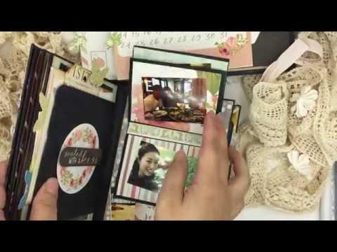 mini scrapbook albums 5x7 inches