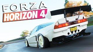 Zagrajmy w FORZA HORIZON 4 PL #24 - GRY Z DZIECIŃSTWA - 1440p
