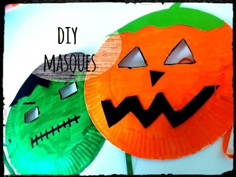 diy halloween activit masque youtube. Black Bedroom Furniture Sets. Home Design Ideas