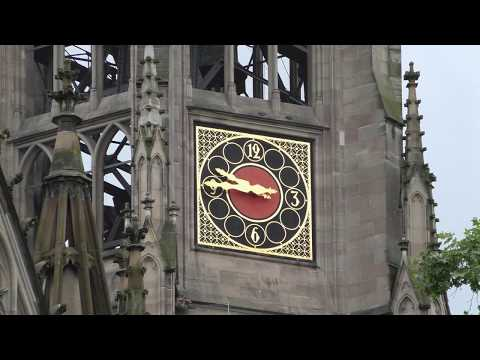 Speyer Gedächtniskirche Teilgeläut mit 7 Glocken