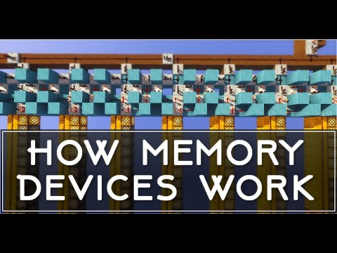 Memory Bank Manager: Useful for Redstone Machines | Minecraft PC/MCPE | +Uma