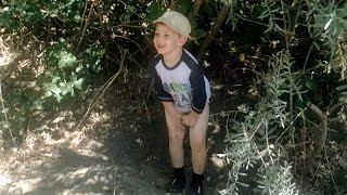 Our Russian River fun is interrupted by Daniel pooping in the bushes