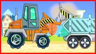 Мультики про трактор. Бульдозер. Спецтехника. Рабочие машинки. Развивающие мультфильмы #Мультики