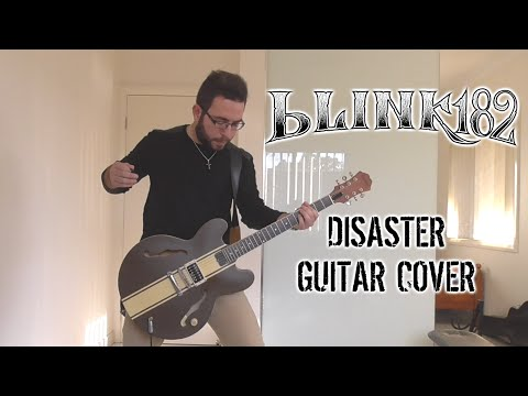 Blink-182 - Disaster (Guitar Cover)