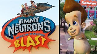 Yesterworld: The History of Jimmy Neutron's Nicktoon Blast at Universal Studios Florida