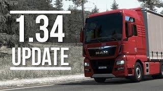 Euro Truck Simulator 2 | 1.34 Update | Toast 🚚