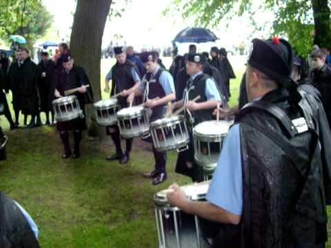 Dumfries & Galloway Constabulary Pipe Band at Scottish Pipe Band Championships 2011