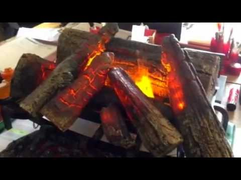 elektro wasserdampf feuer youtube. Black Bedroom Furniture Sets. Home Design Ideas