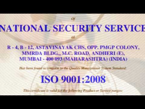 National Security Service Mumbai, Security Guards Services
