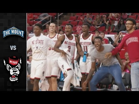 Mt. St. Mary's vs. NC State Basketball Highlights (2018-19)