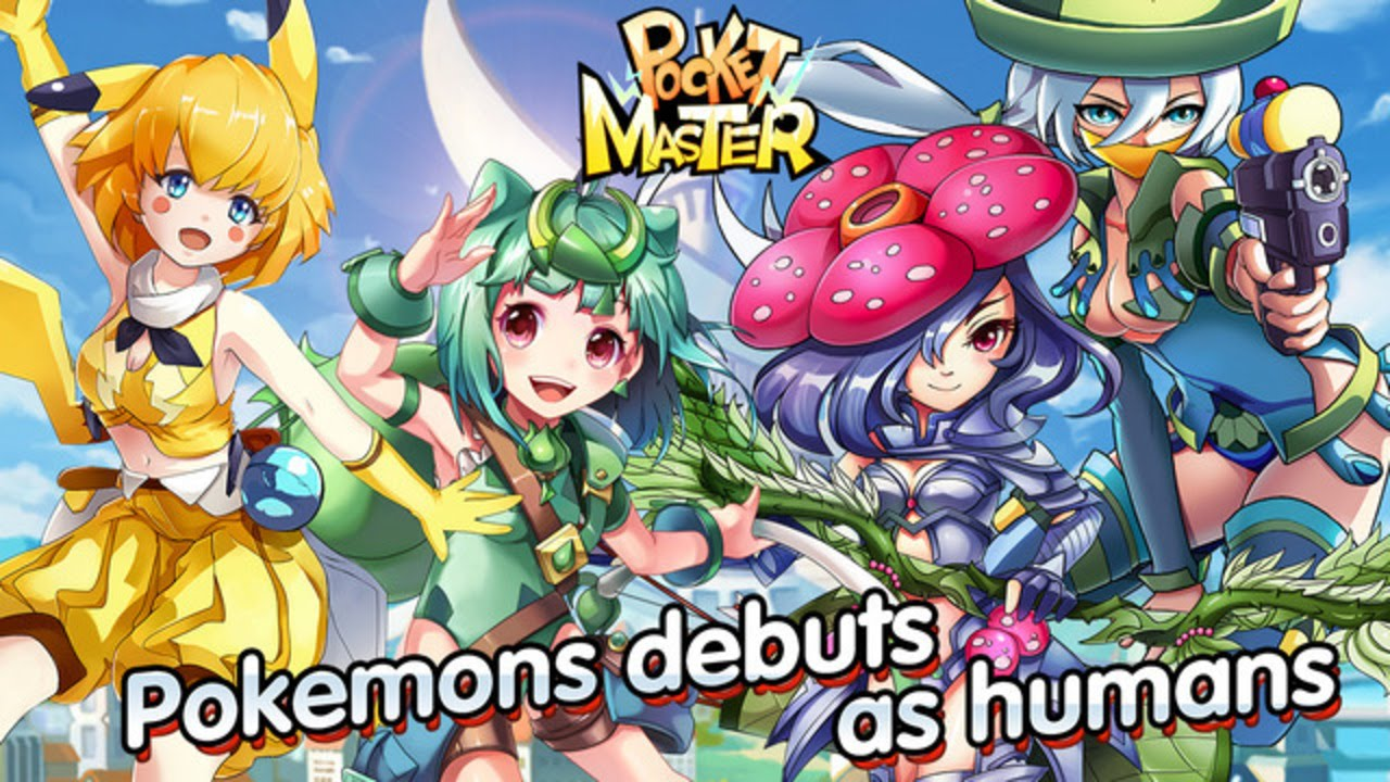 Pocket Master Gameplay Pokemon Debuts Humans Epic