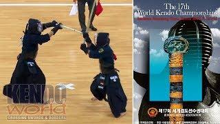 男子個人【2回戦】Men's Ind. 2R【S・ANDO(JPN)×G・KOZAKI(GER)】第17回世界剣道選手権大会【17th WKC】