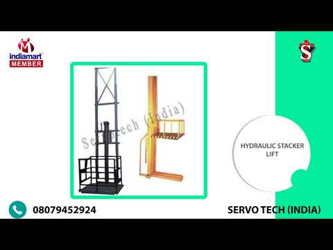 Industrial Lifts & Machines by Servo Tech (India), New Delhi