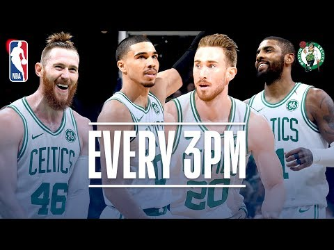Celtics Set A Franchise Record With 24 Threes | November 1, 2018