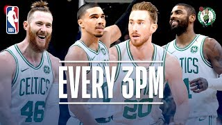Celtics Set A Franchise Record With 24 Threes | November 1, 2018