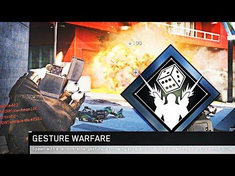 """CRAZIEST MODE EVER.. """"GESTURE WARFARE"""" in Infinite Warfare!"""