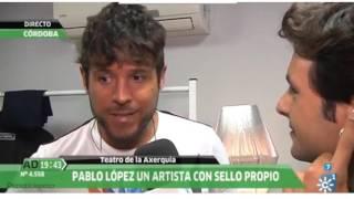 Pablo López en Andalucía Directo