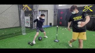 쇼케이 스포츠 베이스볼 TURN CHECK T-BATTING DRILL