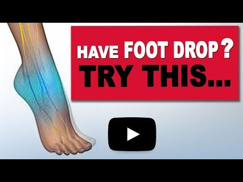Try This Stretch For Foot Drop! | Seated Calf Stretch