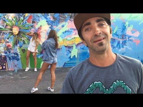 Descubriendo WYNWOOD WALLS un barrio Street Art en MIAMI (Transmisión en vivo) !!