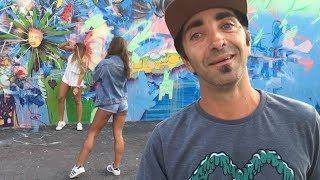 Descubriendo WYNWOOD WALLS un barrio Street Art en MIAMI (Transmision en vivo) !!