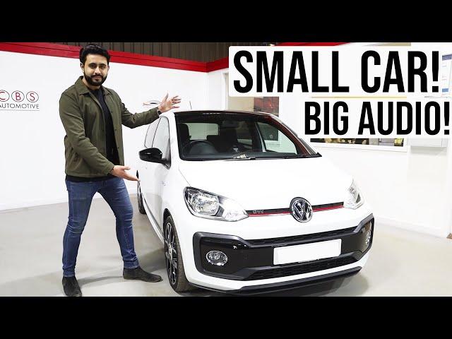 Volkswagen UP GTI | Small Car, Big Audio!