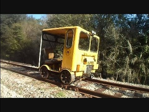 Man Railroad Car