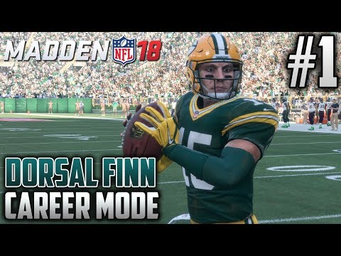 Madden 18 Career Mode | Dorsal Finn (QB) | EP1 | OFFICIALLY A CHEESEHEAD