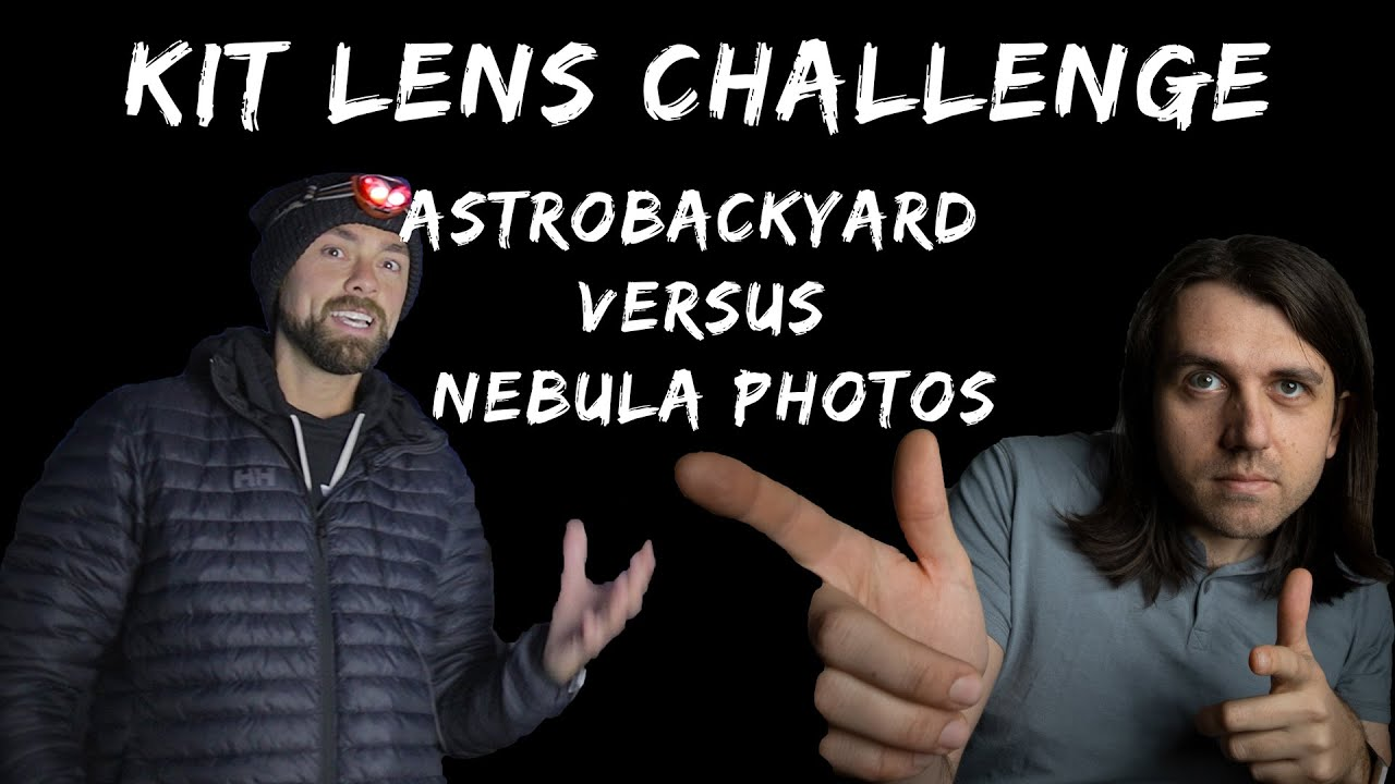 Capturing an EXTREMELY FAINT Nebula with a $200 Kit Lens & DSLR