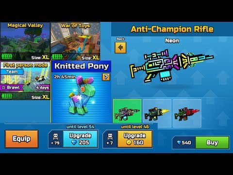 Pixel Gun 3D New Update 16.4.0 - Skins,New Raid,Map,Weapons,Upgrade System,Pet And More