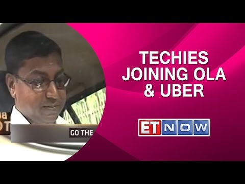 Techies Dumping IT Companies To Drive With Ola & Uber